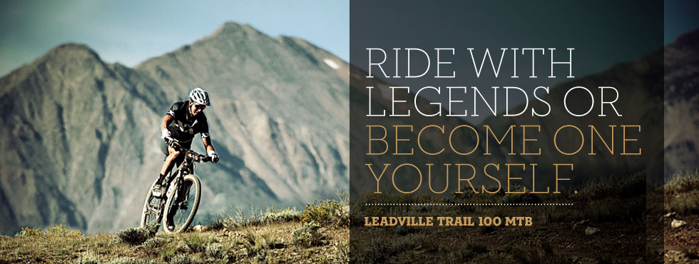Ride with legends or become one yourself.