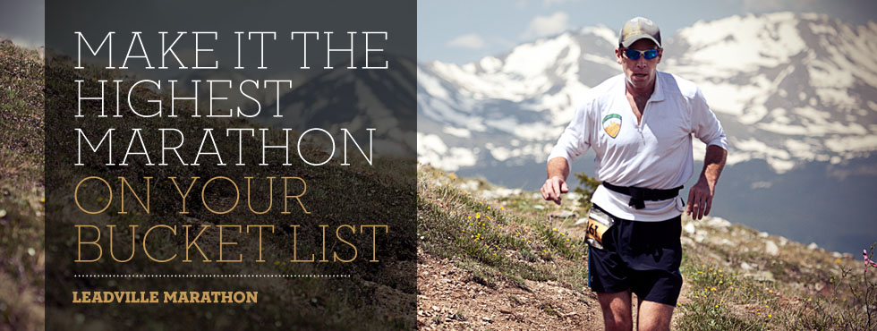 Make it the highest marathon on your bucket list.